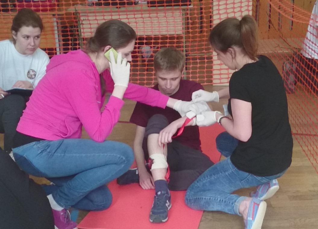 Конкурсы по оказание первой помощи